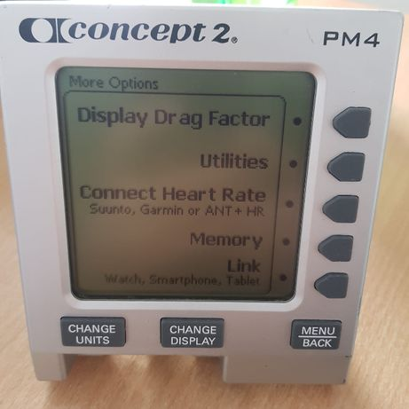 Monitor PM4 do Ergometrów Concept2