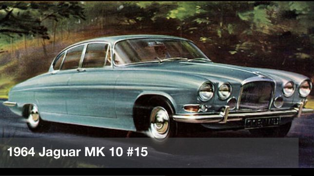 Jaguar Mk10 Mark X