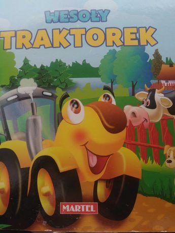 Książka  Wesoły Traktorek /Martel/