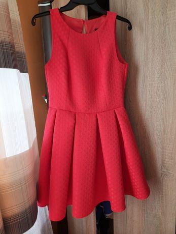 Sukienka czerwona !
