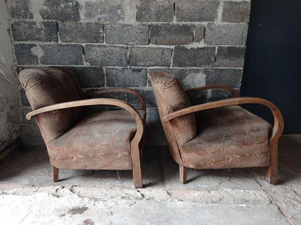Fotel antyk przedwojenny
