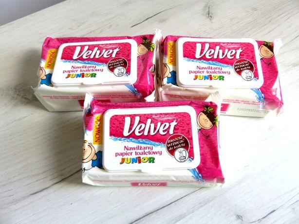 Velvet nawilżany papier toaletowy dla dzieci 42 szt.