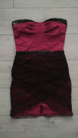 Sukienka wieczorowa mini 36 S