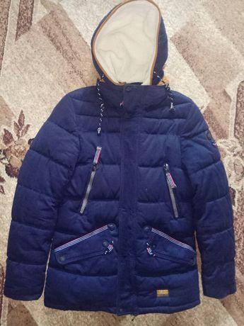 Детская зимняя курточка на возраст 13-15лет