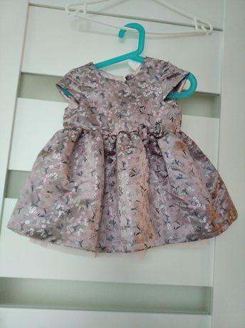 Sprzedam sukienkę dla dziewczynki rozmiar 74