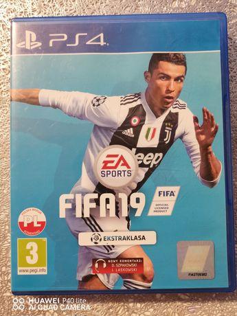 Ps4 FIFA 2019 pl (możliwa zamiana)
