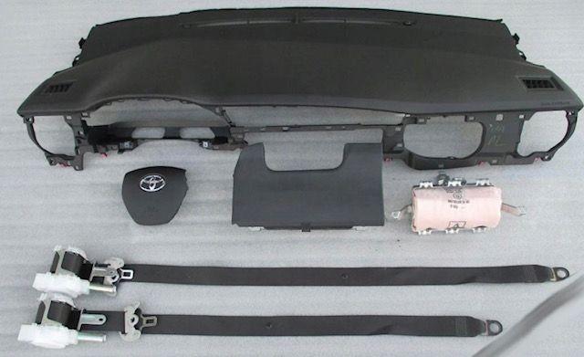 Toyota Auris tablier airbags cintos