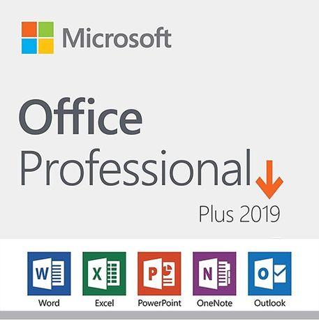 Klucz Microsoft Office 2019 Pro Professional Plus