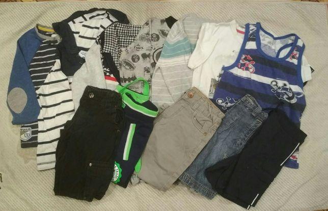 Вещи, одежда для мальчика 3-4 года, кофта джинсы шорты футболка
