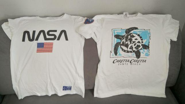 Koszulki bluzki chłopiec S, NASA MARVEL, 7 sztuk okazja!