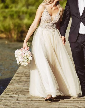 Suknia ślubna Tesoro Nemesida r. 34