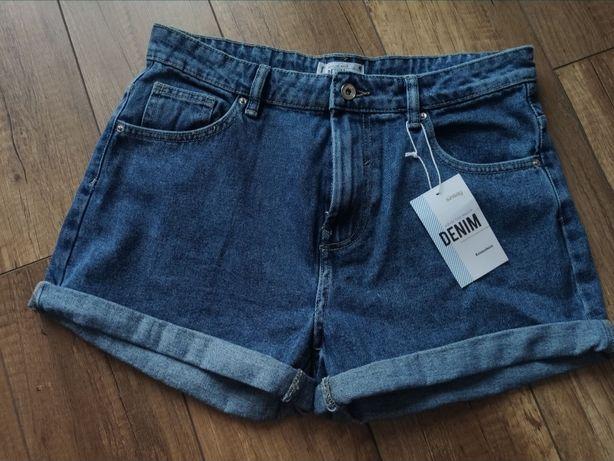 Szorty krótkie spodenki 40 L sinsay mom Jeans
