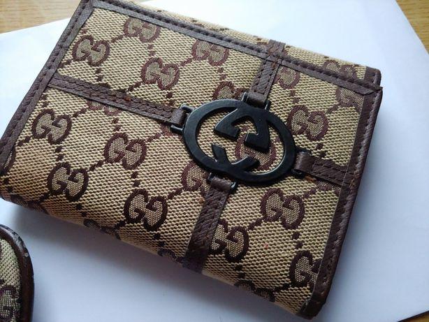 Gucci torebka i portfel używane.komplet