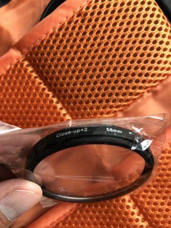 Macro filter 58 mm
