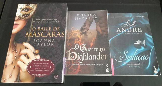 Pack de 3 livros Bella Andre Monica McCarthy, joanna Taylor