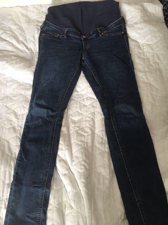 Jeansy ciążowe H&M 42 + gratis