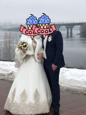 Свадебное платье счастливое