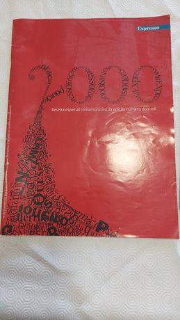 Vendo revista do jornal Expresso número 1000 e número 2000.