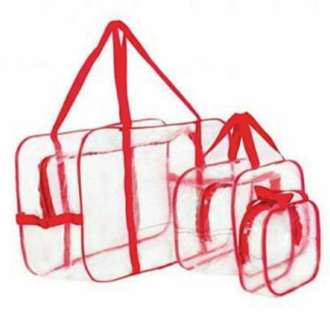 Сумки в роддом, набор сумок, 3 шт