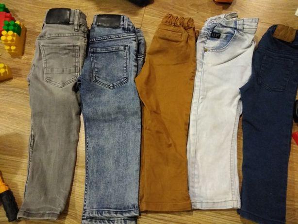 Zestaw spodni dla chłopca H&M + gratis kalosze