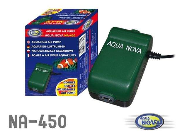 AQUA NOVA napowietrzacz NA-450 2x200l/h