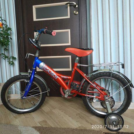 """Детский велосипед """"Салют-16""""."""