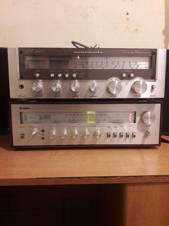 Amplituner Marantz 215L i Yamaha CR-600 Vintage