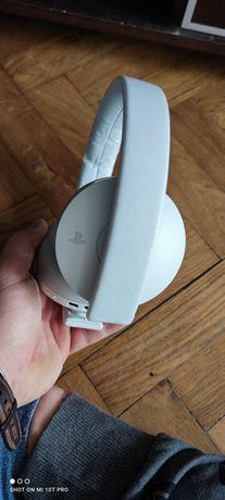 Słuchawki bezprzewodowe Sony PlayStation 4 PS4 Białe