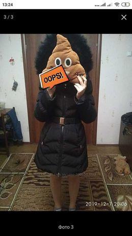 Зимняя куртка на девочку р. 42