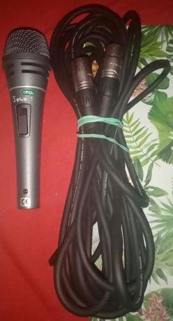 mikrofon muzyczny przewodowy + kabel 10m