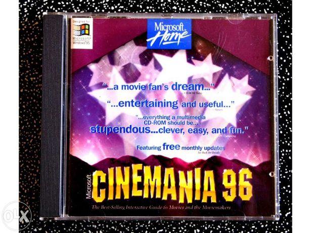 Cinemania 96 Microsoft Enciclopédia de Cinema