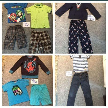 Ubrania chłopięce rozm 128/134