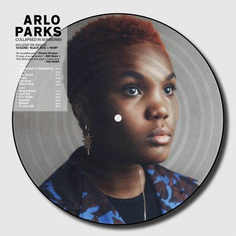Arlo Parks - Collapsed in Sunbeams picture disc vinil lp disco