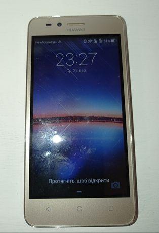Мобильный телефон для девушек. Huawei Y3ІІ. Золотистый