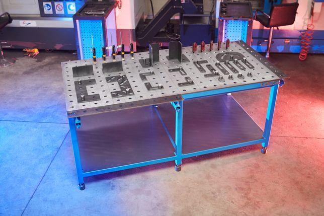 Stół spawalniczy modułowy 1000 X 2000 system 28 z narzędziami
