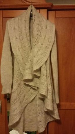 Kardigan/sweter długi+brelok z Grecji GRATIS