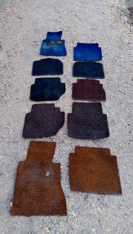 Dywaniki rypsowe dywany tapicerka mercedes w123 w124 w201