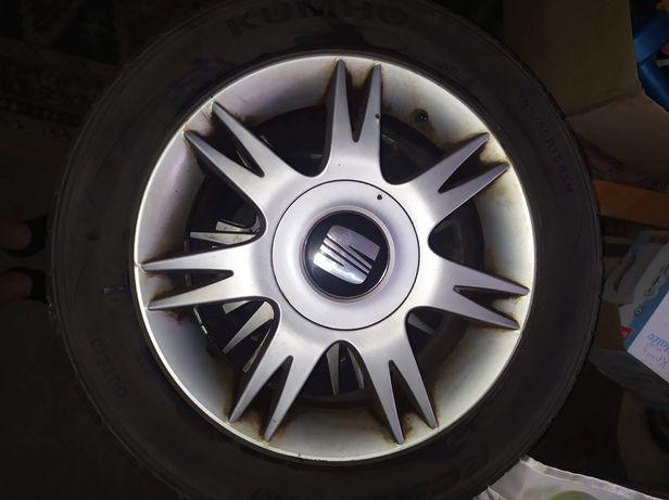 Felgi aluminiowe z oponami Seat 5x100