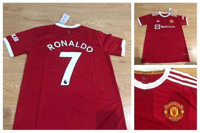Camisola Ronaldo e messi