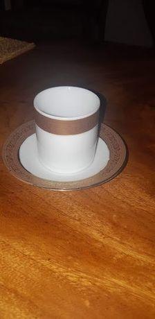 conjunto de chávenas de cafe
