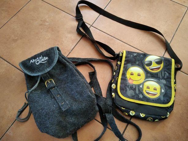 Torebka plecak torba