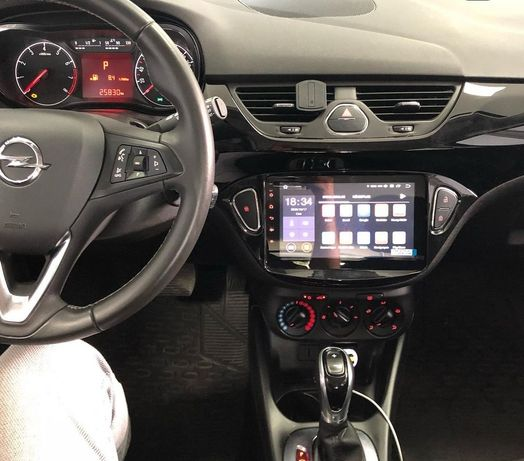 Auto rádio Opel corsa E GPS DVD bluetooth USB Android