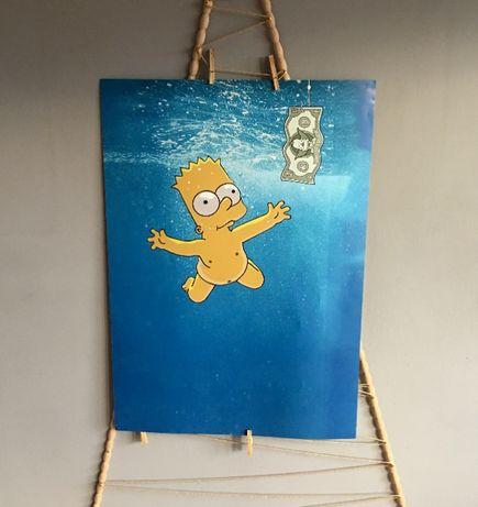 Plakat Simpsonowie oraz inne / A1 (80cm x 60cm) / W antyramie lub bez