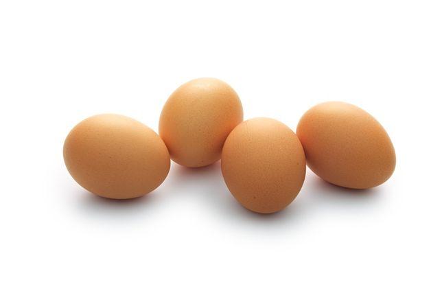 Ovos de galinhas criadas ao ar livre
