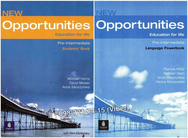 New Opportunities - Pre-intermediate (Учебник + Тетрадь + Audio)