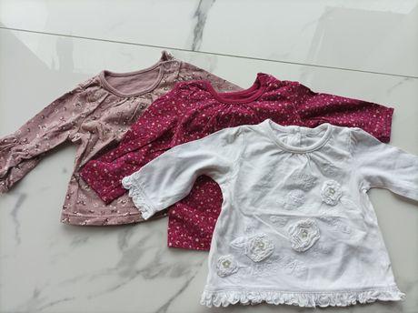 Bluzeczki dziewczęce