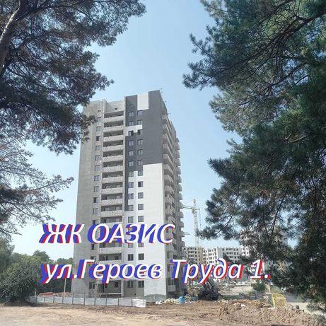 47000у.е. ЖК Оазис 2к. квартира ДОМ-3 площ. 61м2 на Героев Труда 1 ww