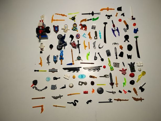 Лего зброя і  мотоцикл.Все Оригінальне