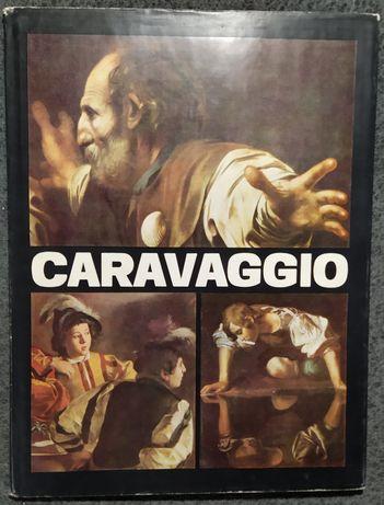 Книга Caravaggio. Vasile Nicolescu 1983