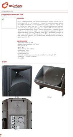 Colunas Amplificadas Acústica CP 15 A